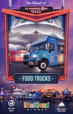 Walt Disney World Planning Pins: Food Trucks