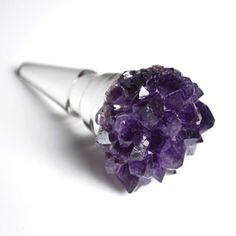 crystal wine stopper for the host.