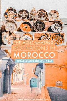 Wondering where to go in Morocco? After seven trips to this varied country, I've rounded up my favorite destinations in Morocco that you absolutely cannot miss in your Morocco itinerary! Visit Morocco, Morocco Travel, Africa Travel, Italy Travel, Croatia Travel, Thailand Travel, Bangkok Thailand, Amazing Destinations, Holiday Destinations