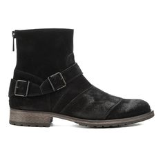 Belstaff Men's Trialmaster Leather Short Boots - Black: Image 01