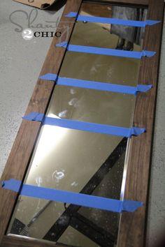 DIY Bathroom Mirror Storage Case,Frame out a mirror Bathroom Mirror Frame Learning how to frame a bathroom mirror can help you create a custom mirror for just about any bathroom in th. Bathroom Mirror Storage, Diy Mirror, Bathroom Ideas, Master Bathroom, Pallet Bathroom, Long Mirror, Bathroom Cabinetry, Bath Ideas, Bathroom Designs