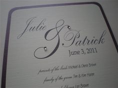 DIY Wedding Program Fan by 2CuteNot2Share on Etsy