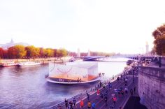Gallery of ANSKA Unveils Floating Platform Design for Paris Olympics - 4
