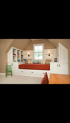 Really cool bedroom idea for kids.