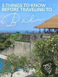 5 Things to Know Before Traveling to Bali, Indonesia
