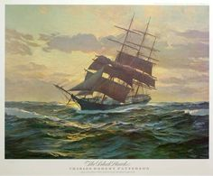 sea and sky: the clipper ship