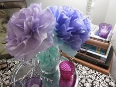 Knot Just Any Day | handmade tissue paper flower arrangement