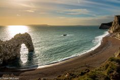Durdle Door, in Dorset on the south coast of England
