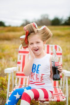 4th of July Photoshoot, 4th of July, Coca Cola Photoshoot, America, Military Kids photoshoot, Red White and Blue Photoshoot, Cute, Girls Photoshoot www.vanessahicksphotography.com