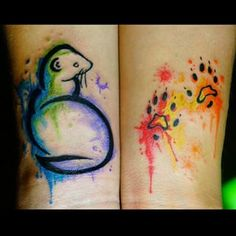 ferret paw tattoo - Google Search