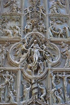 Duomo, Milan Cathedral, the biggest church of Italy, after S. Peter in Rome.