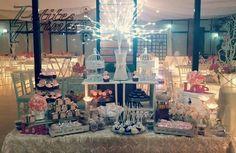 Mesa de dulces de boda
