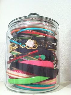 6 Genius Ways to Store Your Headbands: Girls in the Beauty Department: Beauty: glamour.com