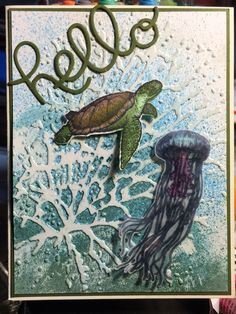 From Land to Sea Stampin' Up! Card