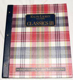 Ralph Lauren Wallpaper Classics III. | eBay!