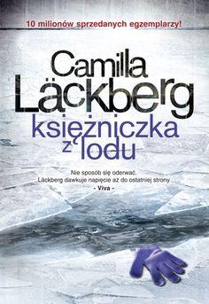 Księżniczka z lodu Camilla #Lackberg Nowa okładka