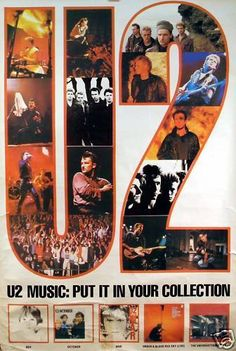 U2 Promotional Ad https://www.facebook.com/FromTheWaybackMachine/
