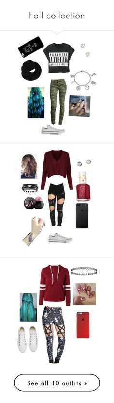 """Fall collection"" by lovely-leah-leah ❤ liked on Polyvore featuring WithChic, True Religion, Converse, prAna, Love This Life, Essie, Rat Baby, Victoria's Secret, Charlotte Russe and H&M"