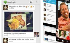 Google Hangouts, te mostramos todo sobre la nueva aplicación de mensajeria de Google.