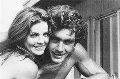Priscilla Presley and her then boyfriend, Mike Edwards.