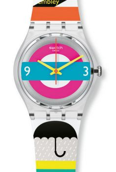 Check out Swatch's Olympic watch collection, it's oh-so-London.