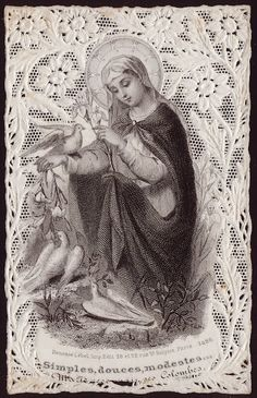 Simple, Sweet, Modest… Virgin of all virgins, To thy shelter take us, Gentlest of the gentle, Chaste and gentle make us