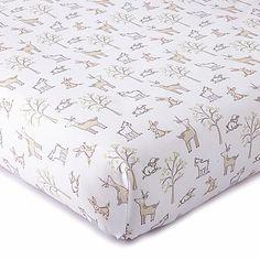 Levtex® Baby Skylar Woodland Fitted Crib Sheet in Blush