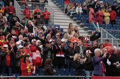Afición Austriaca. Copa Davis. Cuartos de Final 2012. España vs. Austria