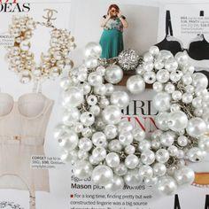 DIY Chanel inspiré bracelet de perles - Rêve un peu plus grand