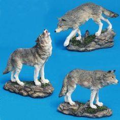 Wolf Figurines