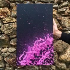 Graffiti Art, Stencil Graffiti, Graffiti Lettering Fonts, Graffiti Drawing, Noir Tattoo, Art Arabe, Acid Art, Beautiful Lettering, Tattoo Design Drawings