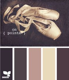 on-pointe. Now I understand why my entire room is pink & brown.