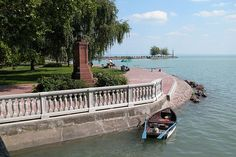 Lake Balaton A must see! Places Around The World, Around The Worlds, Heart Of Europe, French Architecture, Budapest Hungary, Holiday Destinations, Dream Vacations, Places To Go, Beautiful Places