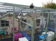 Rainbow Rabbit Accommodation Improvements - very pic heavy sorry! Rabbit Hutch Plans, Outdoor Rabbit Hutch, Rabbit Hutches, Bunny Sheds, Diy Bunny Hutch, Quail House, Rabbit Enclosure, Sid And Nancy, Rabbit Run