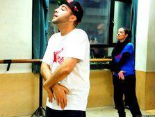 Gonzalo, Founder of WATCH MI STEP >> Dance Workshop in Madrid January 2013