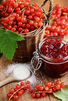 Ga In, Home Canning, Cherry, Food And Drink, Fruit, Red Currants, Sauces, Cottage, Fitness