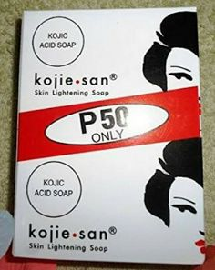 Kojie San P50 Only kojic Acid Soap