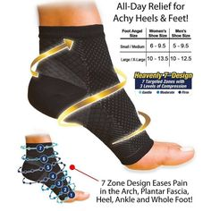 Anti Fatigue Compression Foot Sleeve Socks Offer