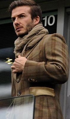Love the jacket & scarf.