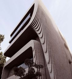 Parametric Marble Façade in Athens - Architizer