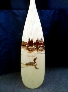 Another Loon design I used for my oldest daughters paddle. More