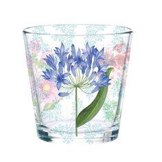 Botanical Dream Glass Tumbler.  Ginger