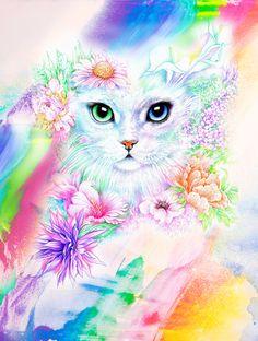 =^. ^= Cat Art =^. ^= ❤ ...By Artist Joan Marie Art...