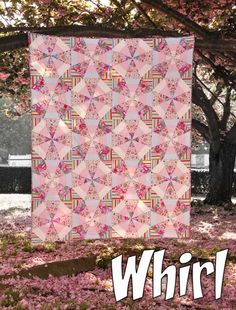 Whirl Quilt... Free Pattern ~ Mary McGuire Design