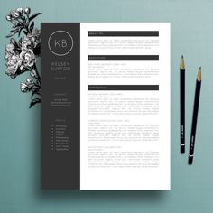 Modern Resume Layout Modern Resume Template Cover Letter Template For Word Professional .