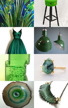 GREEN! by Noel on Etsy--Pinned with TreasuryPin.com