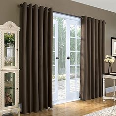 Thermalogic® Weathermate 84-Inch Double-Wide Grommet Top Window Curtain Panel Pair