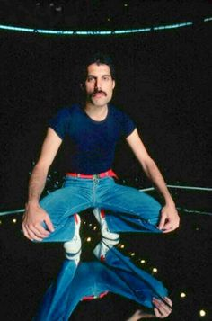 Freddie was a very sexy on this earth ever