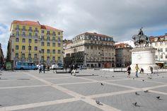 Downtown Lisbon - Baixa Pombalina - Praça da Figueira