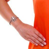 Pulseira Floco de Neve • Caleidoscópio Jewelry